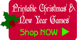 Shop Christmas and New Year party games, print on demand