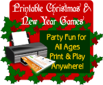 Printable Christmas games, shop now at ClipArtandCrafts.com