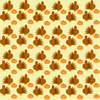 Cream background turkeys and pumpkins graphic