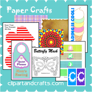 Paper craft templates printables