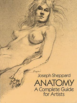 Anatomy drawing and art instruction book