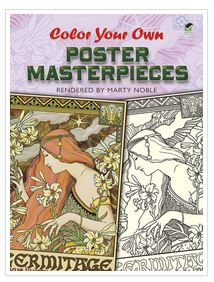 Art posters coloring book